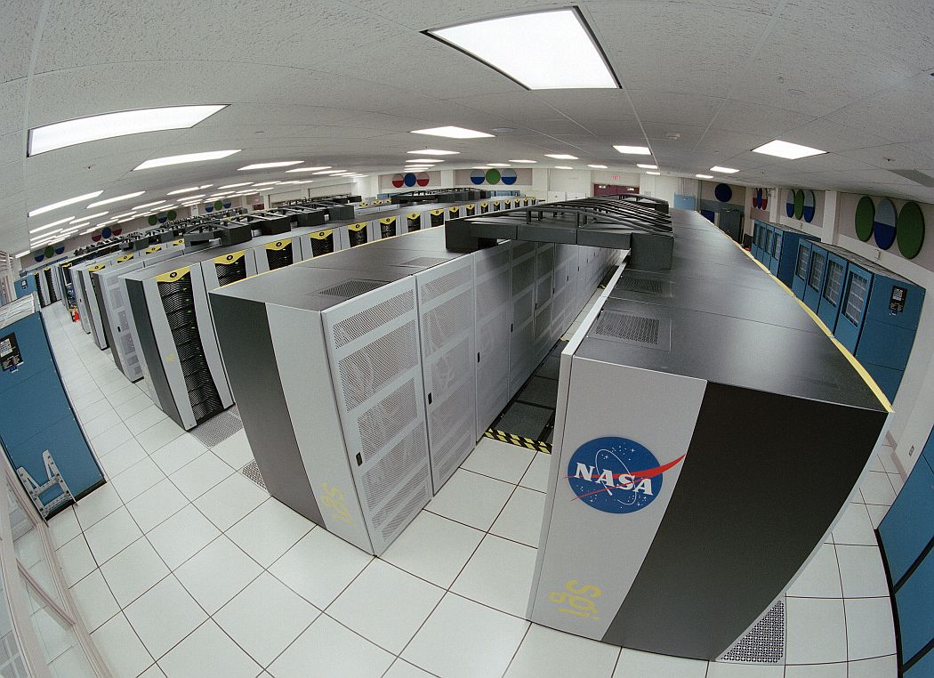 nasa supercomputer tastatur