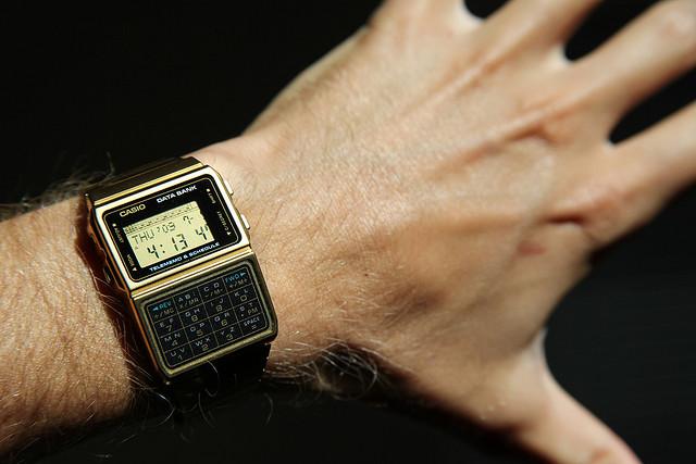 Casio Gold Calculator Watch It Spots
